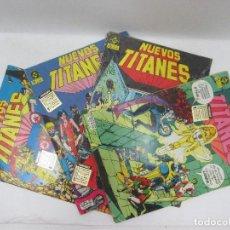 Cómics: LOTE DE 4 CÓMICS DE NUEVOS TITANES DC COMICS EDICIONES ZINCO AÑOS 80. Lote 95335647