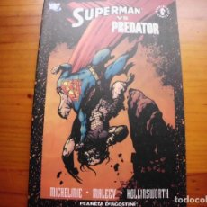 Cómics: SUPERMAN VS PREDATOR. Lote 95539919