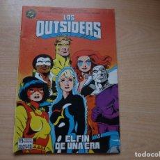 Cómics: LOS OUTSIDERS - NÚMERO 26 - ULTIMO NÚMERO - ESPECIAL DE 52 PAGINAS - AÑO 1986 - ZINCO. Lote 95589019