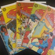Cómics: SUPERMAN EL HOMBRE DE ACERO COMPLETA BYRNE ZINCO. Lote 95705302