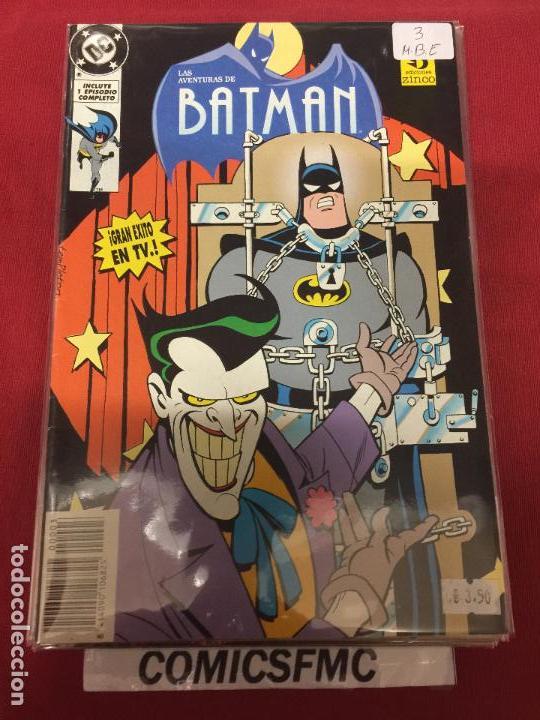 ZINCO DC LAS AVENTURAS DE BATMAN NUMERO 33 MUY BUEN ESTADO REF.33 (Tebeos y Comics - Zinco - Batman)