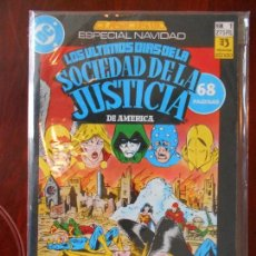 Cómics: LOS ULTIMOS DIAS DE LA SOCIEDAD DE LA JUSTICIA DE AMERICA - ESPECIAL NAVIDAD - Nº 1 - ZINCO -DC (A1). Lote 95761995
