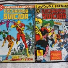 Cómics: ESCUADRON SUICIDA NUMEROS 2, 5. 6,7, 8, Y ESPECIAL VERANO Y NAVIDAD. Lote 95844247