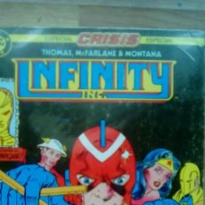 Cómics: INFINITY INC TOM MC FARLANE RETAPADO. Lote 95969903