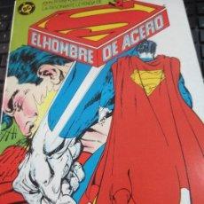 Cómics: EL HOMBRE DE ACERO Nº 4 SUPERMAN EDIT ZINCO AÑO 1986. Lote 96062439