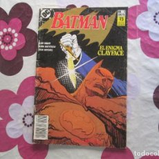 Cómics: BATMAN EL ENIGMA CLAY FACE. Lote 96063479