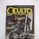 Cómics: OCULTO. HILO DIRECTO CON EL MISTERIO Nº 1. RELATOS GRÁFICOS. EDICIONES ZINCO. TDKC28. Lote 96179283