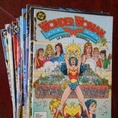 Cómics: WONDER WOMAN - LA MUJER MARAVILLA - COMPLETA - NUMEROS 1 A 38 - ZINCO - DC (6O). Lote 96181355