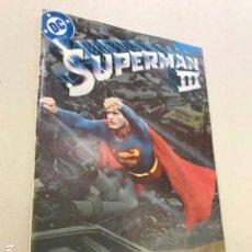 Cómics: SUPERMAN III CUBIERTA ALTERNATIVA - ZINCO - 1983. Lote 100096675