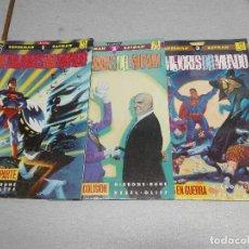 Cómics: SUPERMAN BATMAN: LOS MEJORES DEL MUNDO / GIBBONS, RUDE, KESEL, OLIFF / COMPLETA 3 TOMOS / DC - ZINCO. Lote 109238635