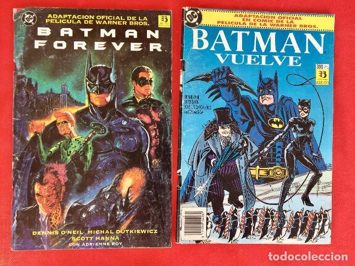 BATMAN VUELVE Y BATMAN FOREVER DC CÓMICS (Tebeos y Comics - Zinco - Batman)