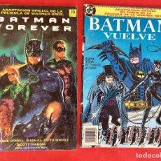 Cómics: BATMAN VUELVE Y BATMAN FOREVER DC CÓMICS. Lote 177741728