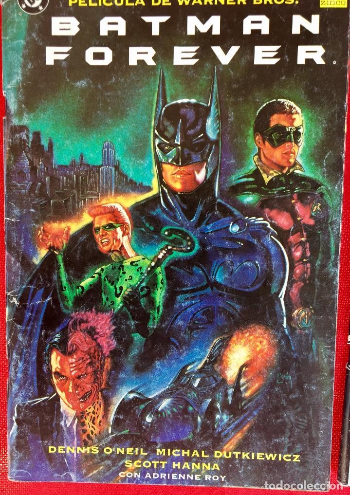 Cómics: Batman vuelve y Batman forever dc cómics - Foto 2 - 177741728