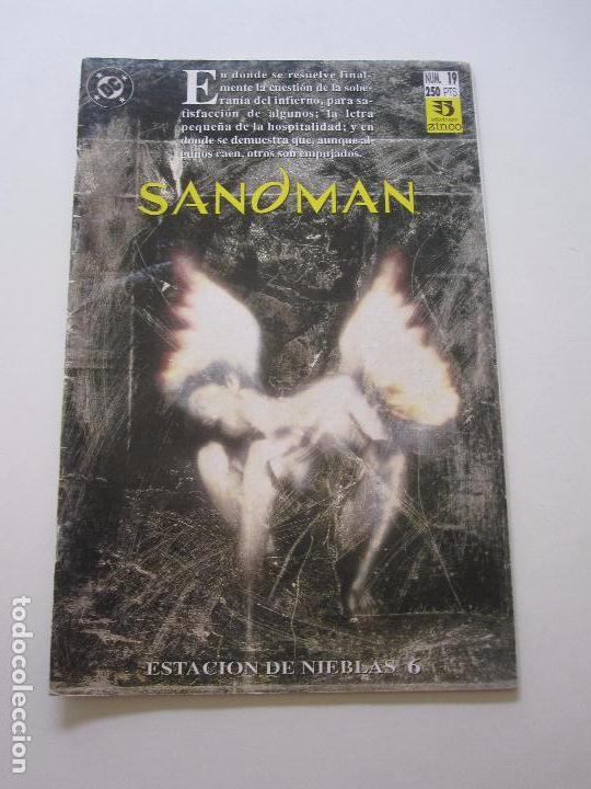 SANDMAN Nº 19. ESTACIÓN DE NIEBLAS 5 ZINCO E10 (Tebeos y Comics - Zinco - Otros)
