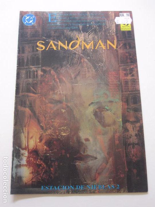 SANDMAN - ESTACIÓN DE NIEBLAS 2 - Nº 16 - DC / EDICIONES ZINCO E10 (Tebeos y Comics - Zinco - Otros)