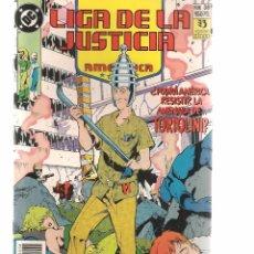 Cómics: LIGA DE LA JUSTICIA AMERICANA. Nº 38. DC/ZINCO. (RF.MA)C/11. Lote 221438460