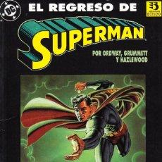 Cómics: EL REGRESO DE SUPERMAN (ZINCO,1993) - JERRY ORDWAY - TOM GRUMMETT. Lote 97776947
