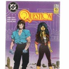 Comics: QUESTION. Nº 27. DC/ZINCO. (RF.MA)C/15. Lote 97780603