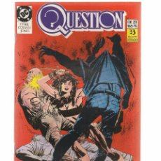 Comics: QUESTION. Nº 28. DC/ZINCO. (RF.MA)C/15. Lote 97780635