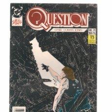 Comics: QUESTION. Nº 31. DC/ZINCO. (RF.MA)C/15. Lote 97780791