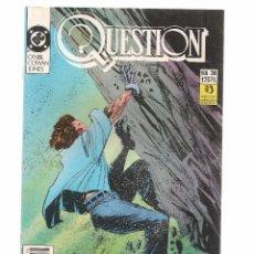 Comics: QUESTION. Nº 36. DC/ZINCO. (RF.MA)C/15. Lote 97781003