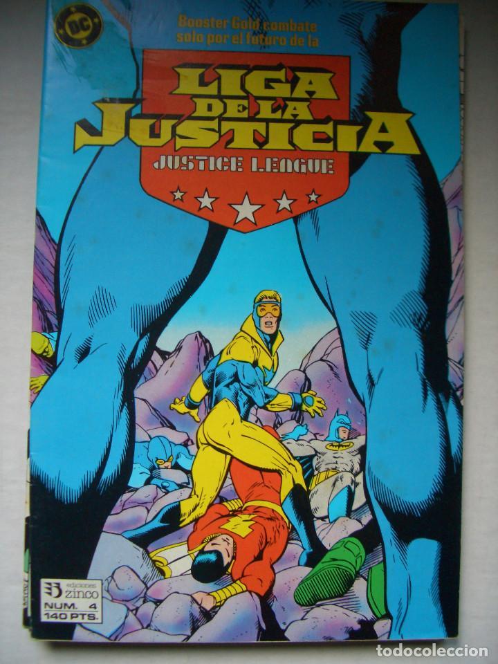 LIGA DE LA JUSTICIA #4 (ZINCO, 1988) (Tebeos y Comics - Zinco - Liga de la Justicia)