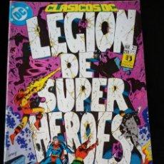 Cómics: COMIC LEGION DE SUPERHEROES Nº 21 . ZINCO. CLASICOS DC. Lote 97903567