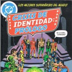 Cómics: LIGA DE LA JUSTICIA DE AMERICA. CRISIS DE IDENTIDAD: PRÓLOGO. Lote 97997347