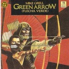Cómics: GREEN ARROW. FLECHA VERDE. LIBRO DOS. Nº 2. EL CAZADOR ACECHA. TOMO EDICIONES ZINCO.. Lote 98059519
