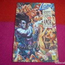 Cómics: LOBO ARDIENTE CADENA DEL AMOR ( ALAN GRANT GIFFEN ) ¡MUY BUEN ESTADO! ZINCO DC. Lote 101346787