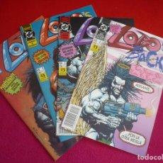 Cómics: LOBO EL REGRESO 1 AL 4 ( ALAN GRANT GIFFEN ) ¡COMPLETA! ¡MUY BUEN ESTADO! ZINCO DC LOBO'S BACK. Lote 101346842
