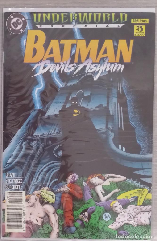 ESPECIAL UNDERWORLD BATMAN DEVILS ASYLUM GRAPA (ZINCO) (Tebeos y Comics - Zinco - Batman)