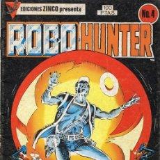 Cómics: ROBO HUNTER Nº 4. Lote 98535563
