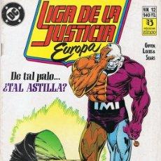 Cómics: LIGA DE LA JUSTICIA EUROPA Nº 12 . Lote 98550055