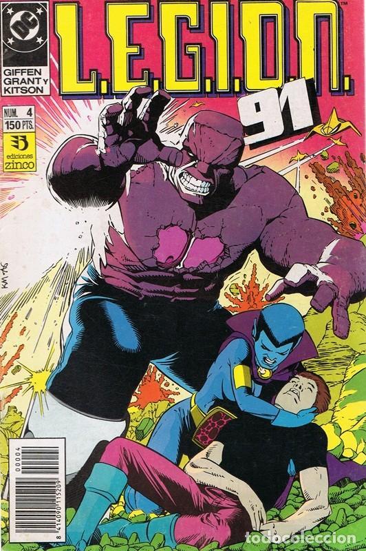 LEGION 91 Nº 4 (Tebeos y Comics - Zinco - Legión 91)