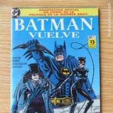 Cómics: BATMAN VUELVE - ADAPTACIÓN OFICIAL EN COMIC DE LA PELÍCULA DE WARNER BROS - ESPECIAL ZINCO. Lote 98646099