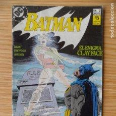 Cómics: BATMAN - EL ENIGMA CLAYFACE Nº 2 -L ZINCO. Lote 98646195