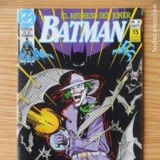 Cómics: BATMAN - EL REGRESO DEL JOKER -L ZINCO. Lote 98646415