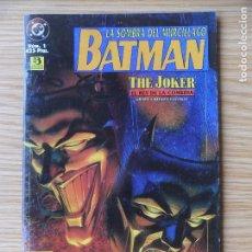 Cómics: BATMAN - LA SOMBRA DEL MURCIÉLAGO - THE JOKER, EL REY DE LA COMEDIA - ESPECIAL Nº 1 ZINCO. Lote 98647031