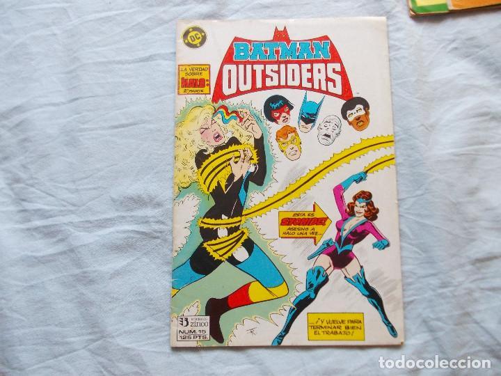BATMAN Y LOS OUTSIDERS Nº 15. ZINCO (Tebeos y Comics - Zinco - Outsider)