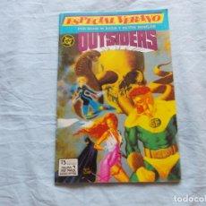 Comics : ESPECIAL VERANO LOS OUTSIDERS. Nº 1. ZINCO . Lote 98757831
