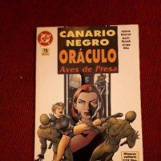 Cómics: OFERTA CANARIO NEGRO: AVES DE PRESA - TOMO - ZINCO - BLACK CANARY AND ARROW. Lote 98802127