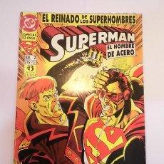 Cómics: SUPERMAN EL HOMBRE DE ACERO NUM 2 - ED. ZINCO- 1993. Lote 98822439