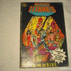Comics: NUEVOS TITANES N° 8 . CONTIENE DEL 36 AL 40 . EL FIN DE HIVE. Lote 98870271