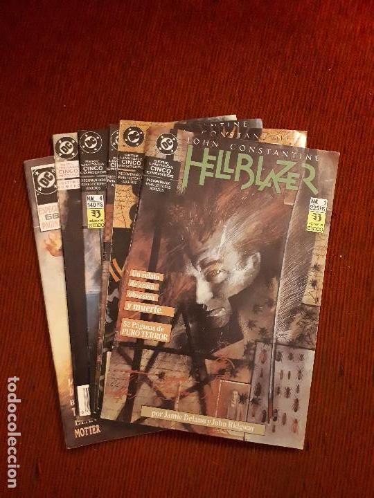 LOTE HELLBLAZER 1 AL 5 + EXTRA - ZINCO (Tebeos y Comics - Zinco - Otros)