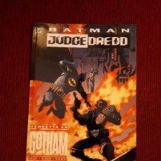 Cómics: OFERTA BATMAN VS JUDGE DREDD: VENDETA EN GOTHAM - PRESTIGIO - ZINCO. Lote 98974987