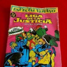 Cómics: LIGA DE LA JUSTICIA - COMIC Nº 1 (ESPECIAL VERANO) ORIGINAL AÑOS 80 - ED. ZINCO S.A. EDITORIAL -. Lote 98987059