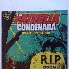 Cómics: LA PATRULLA CONDENADA, Nº 5. Lote 99198895