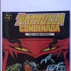 Cómics: LA PATRULLA CONDENADA, Nº 2. Lote 99198919
