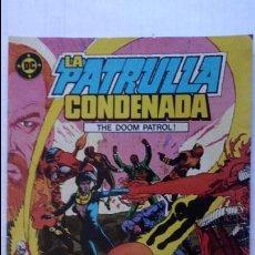 Cómics: LA PATRULLA CONDENADA, Nº 1. Lote 99198951